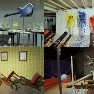 Figure 17: Screenshots of OK Go's 'This Too Shall Pass', 2010, Capitol Records