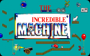 Figure 10: 'The Incredible Machine' promotional title screen, 1992, Sierra Entertainment